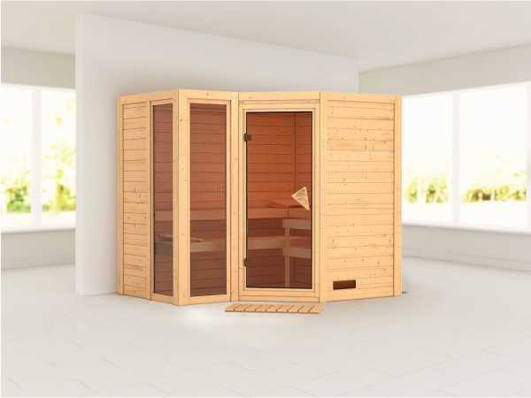 Sauna Massivholzsauna Amara
