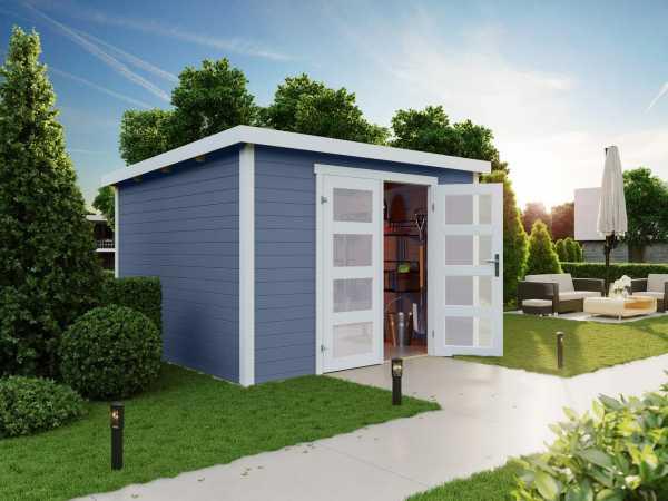 Gartenhaus Zambezi 7 28 mm taubenblau
