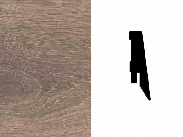 Sockelleiste Eiche graubeige Dekor Profil SKL 60