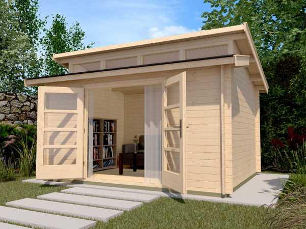 Gartenhaus 158 Gr. 2 28 mm naturbelassen