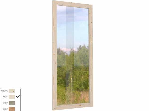 Wandelement für den Pavillon Lucy 12,2 m² transparent tauchimprägniert