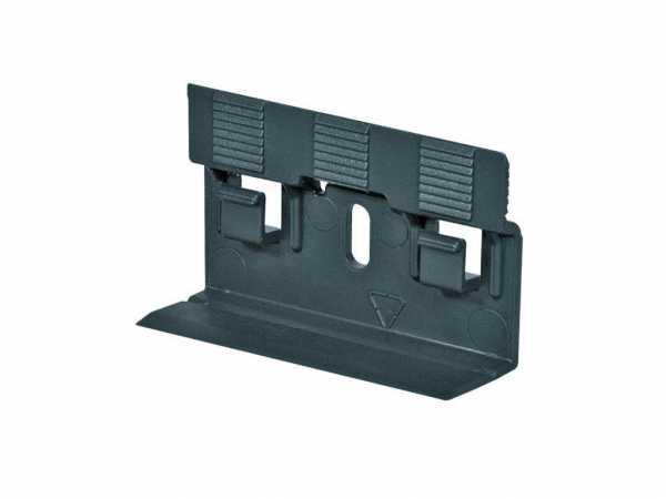Clips für Stecksockelleisten Schrauben Dübel