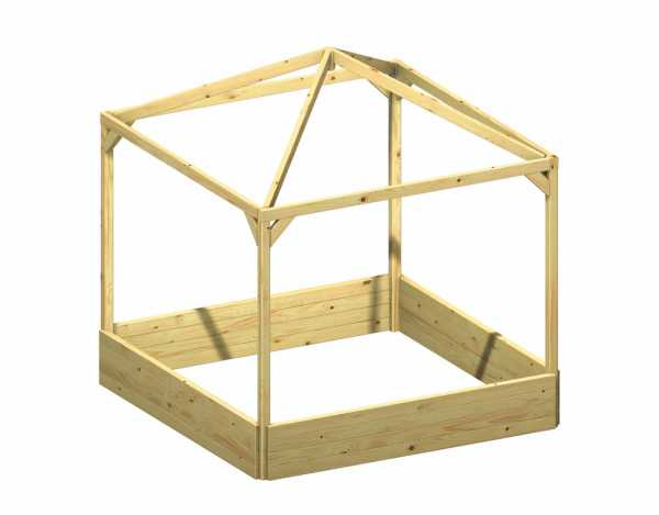 "Kinderpavillon ""BENJAMIN"" ohne Dach"