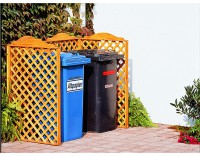 Mülltonnenspaliersystem