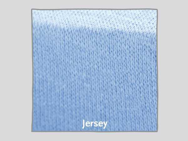 Nestchen für Kinderbetten Jersey, weiß