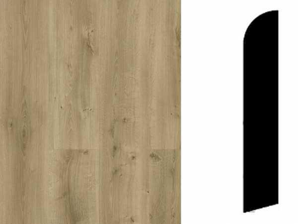 Sockelleiste Rustic Oak Medium Brown Dekor