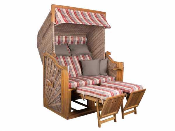 strandkorb trendy pure greenline 140xl walnut design 709 778420. Black Bedroom Furniture Sets. Home Design Ideas