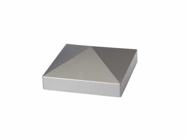 Pfostenkappe LONGLIFE Metalloptik