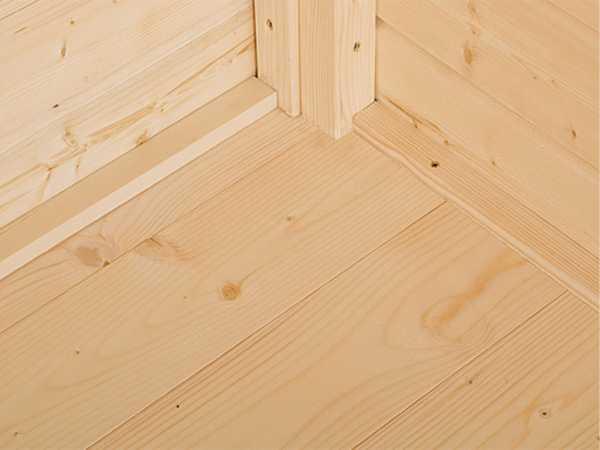Fußboden passend für Sockelmaß 180 x 80 cm, naturbelassen