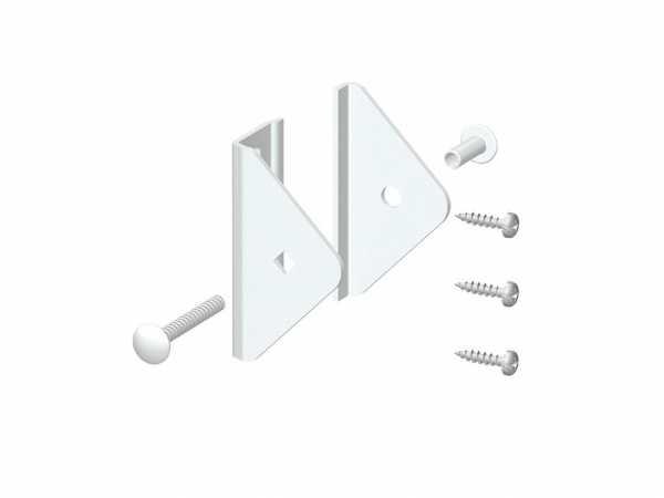 Elementhalter-Set für LONGLIFE CLEO Weiß