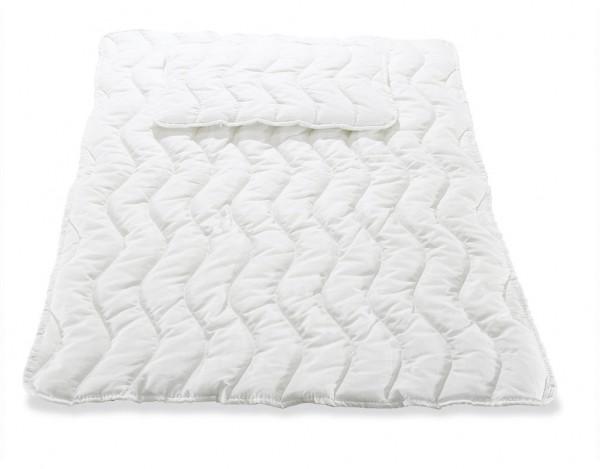 Allergo-Bettdecke mit Flachkissen