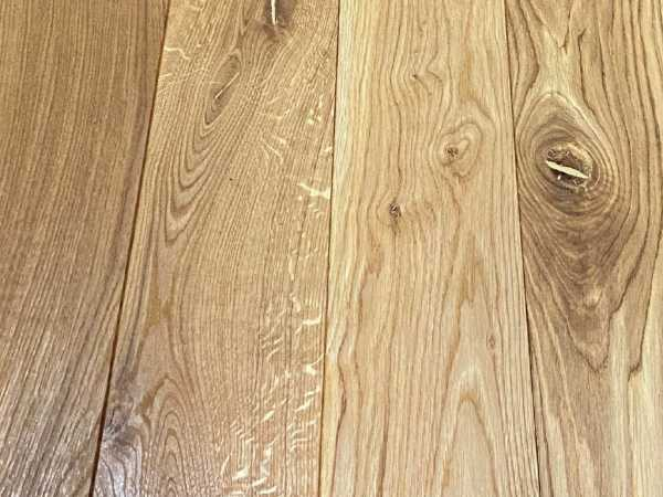 Massivholzdiele Eiche Rustikal R gebürstet endgeölt