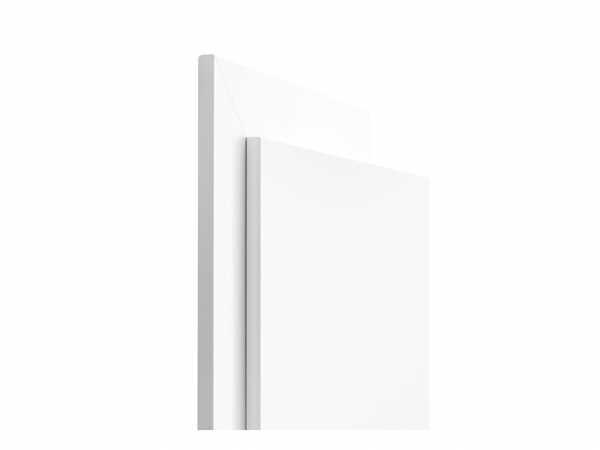 CPL Zarge Weiß RAL 9003, Designkante