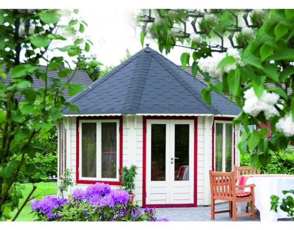 pavillon de luxe nizza 3 5 schwarz 45 mm naturbelassen wf0535. Black Bedroom Furniture Sets. Home Design Ideas