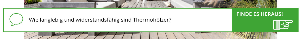 Was ist Thermoholz?
