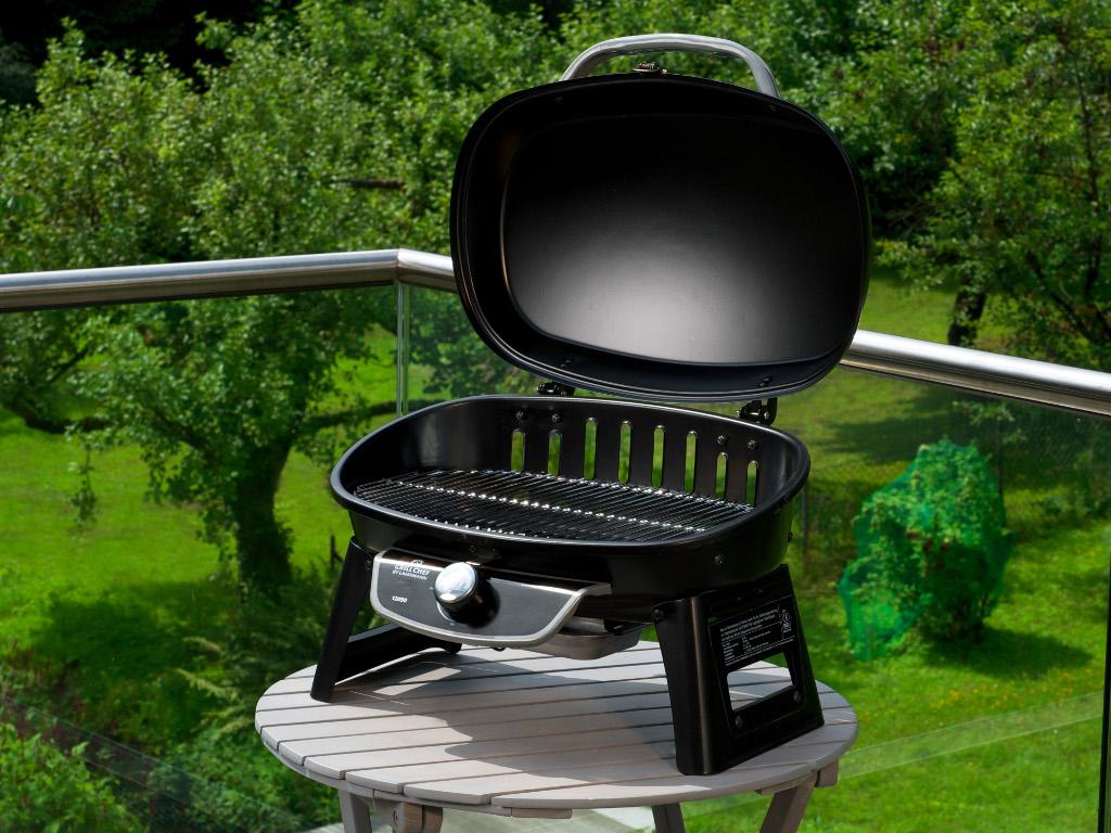 gasgrill grillchef kompaktgrill 12050 schwarz 772132. Black Bedroom Furniture Sets. Home Design Ideas