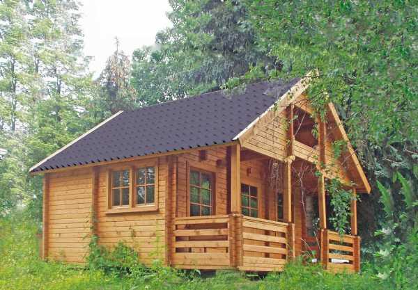Ferienhaus Blockbohlenhaus Sauerland 70-A 70 mm naturbelassen