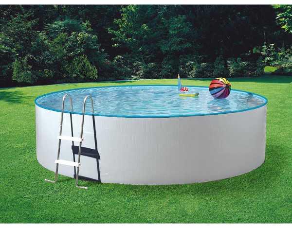 poolset splash mit sandfilter stahlwandpool pool garten holzprofi24. Black Bedroom Furniture Sets. Home Design Ideas