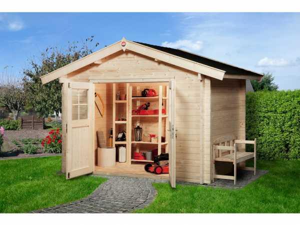 Gartenhaus Premium45 Gr. 1 45 mm naturbelassen