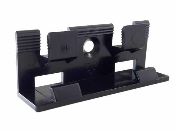 Sockelleisten-Clip für Profile 16 x 58 mm 19 x 57 mm und 19 x 80 mm