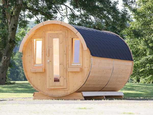 Campingfass 330 2 Raum Naturbelassen Als Bausatz Inkl Dachschindeln Schwarz