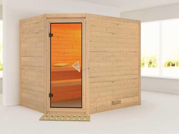 Sauna Massivholzsauna Tanami