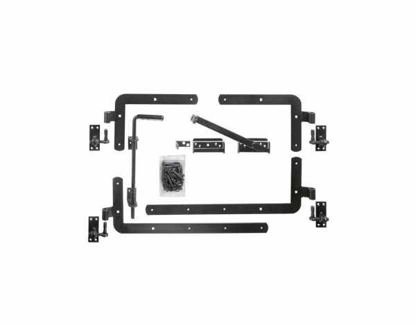 Beschlagsatz für KARLO-Doppeltor anthrazit