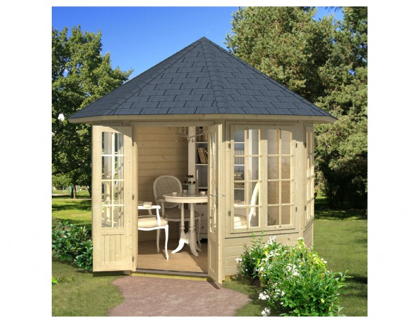 Pavillon Louise 4F 40 mm naturbelassen