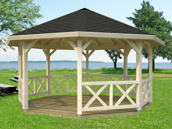 Pavillon Betty 18,0 m² naturbelassen