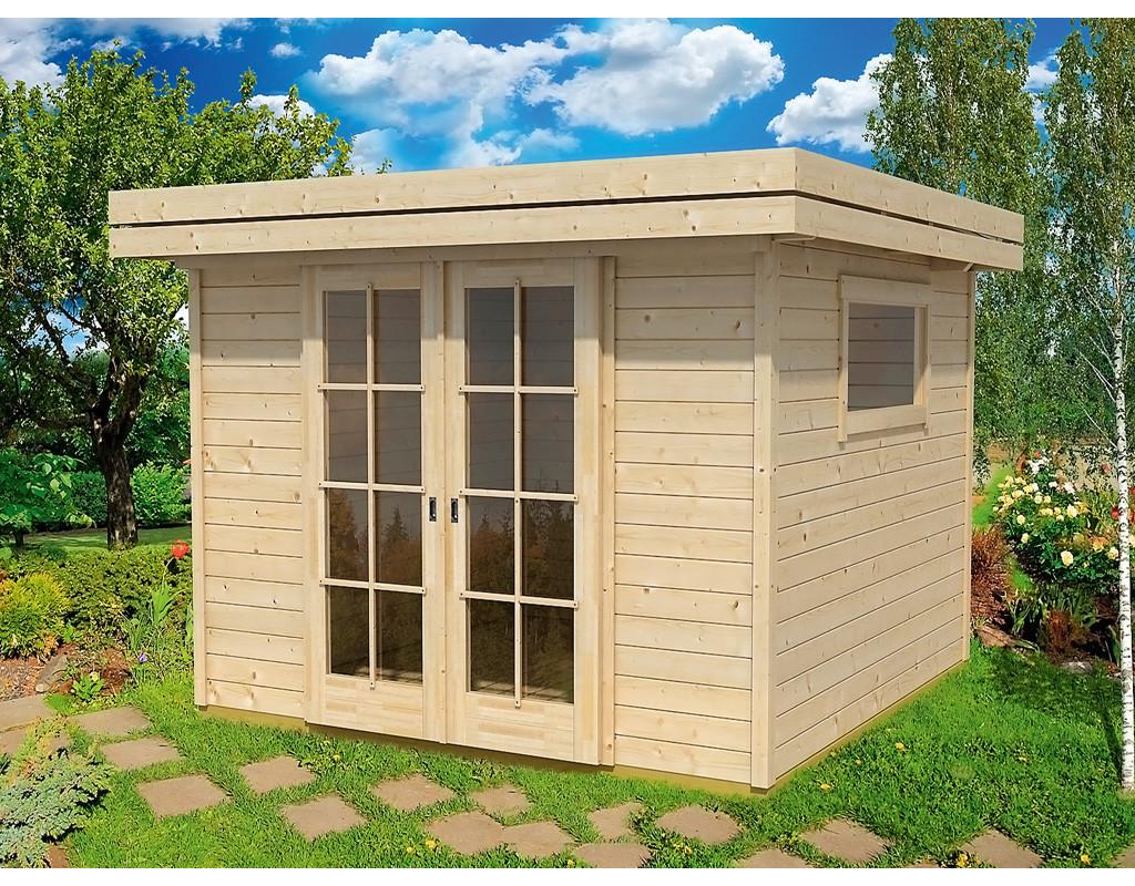 gartenhaus sumatra 7 28 mm natur la1003. Black Bedroom Furniture Sets. Home Design Ideas