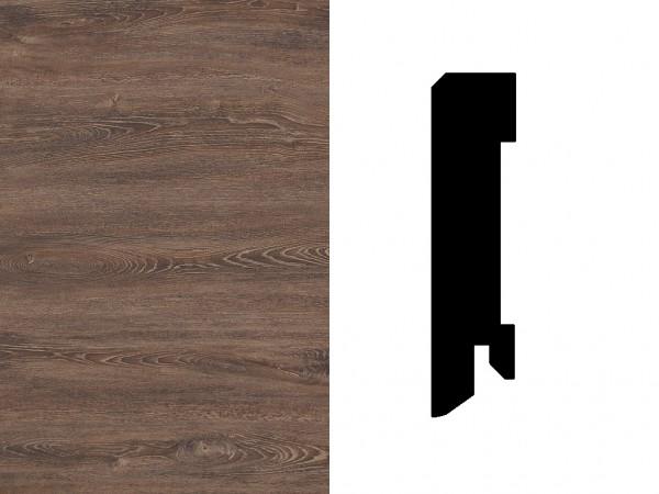 sockelleiste slc 516 eiche havanna dekorleiste ti1381. Black Bedroom Furniture Sets. Home Design Ideas