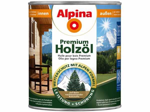 Premium Holzöl Mahagoni