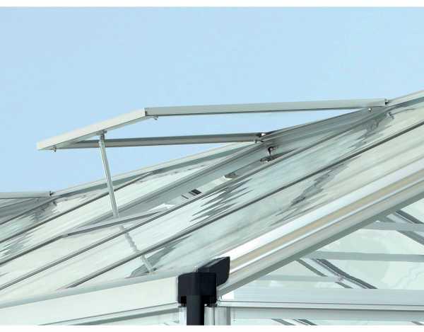 """Gewächshaus Zubehör """"Alu-Dachfenster"""", schwarz"""