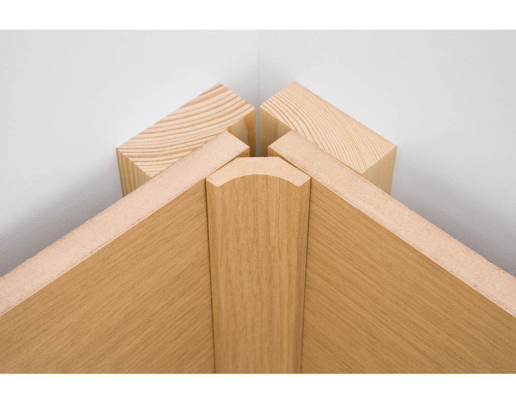 wand und deckenleiste pinie hell 636 echtholzfurnier me1654. Black Bedroom Furniture Sets. Home Design Ideas