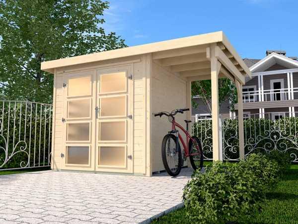 Gartenhaus 321 A Gr. 4 19 mm naturbelassen