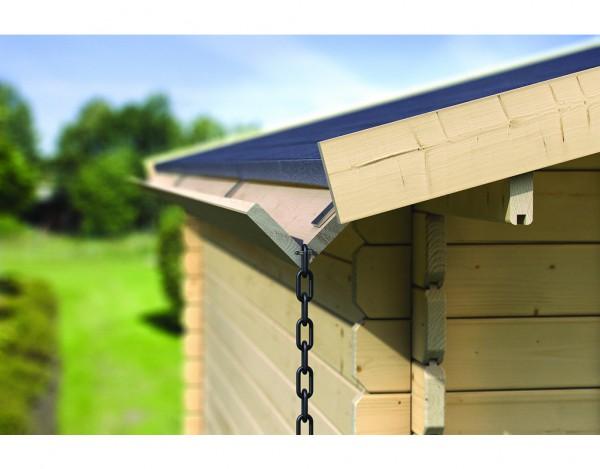 Holzdachrinnen-Set Verlängerung für Satteldächer, kdi