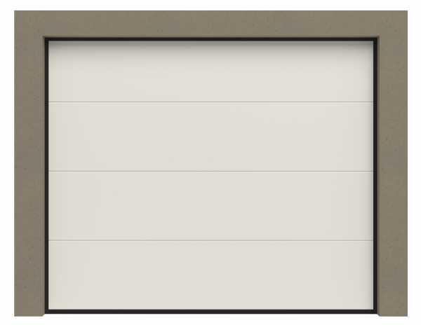 Garagentore Sektionaltore mit glatter Oberfläche / Woodgrain-Oberfläche