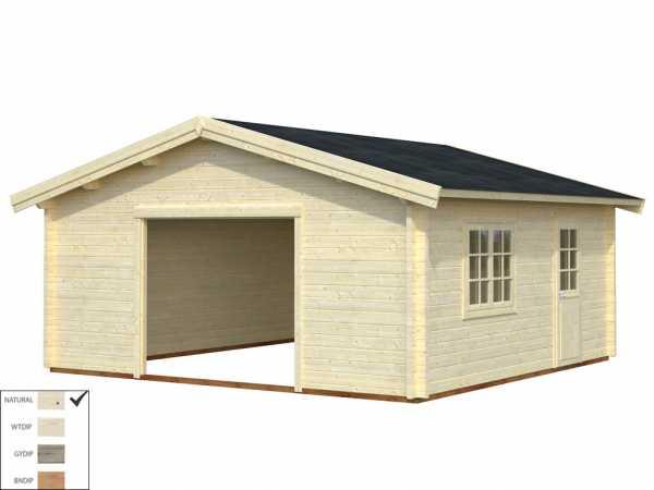 Garage Roger 27,7 m² ohne Tor 70 mm naturbelassen