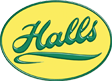 HALLS Logo