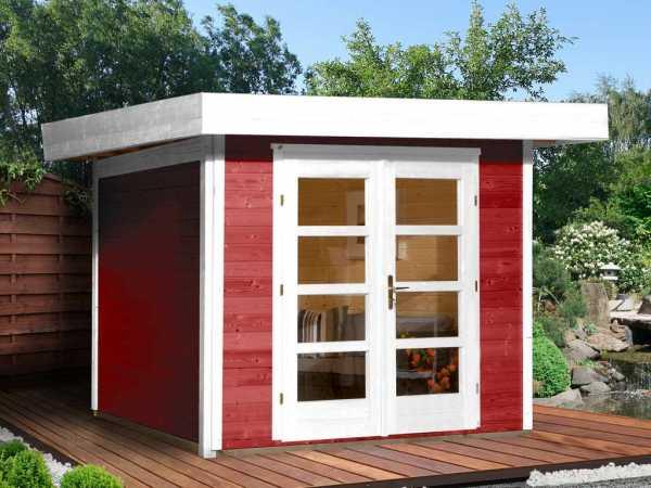 Gartenhaus Designhaus 126 Plus Gr. 1 schwedenrot