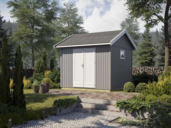 Gartenhaus Nordic 12 19 mm naturbelassen