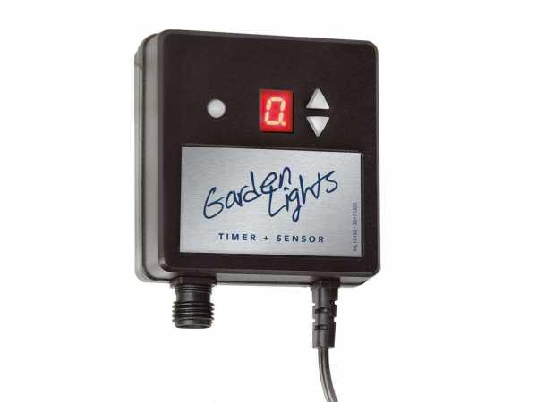 12 V Profi Timer mit Lichtsensor 150 Watt