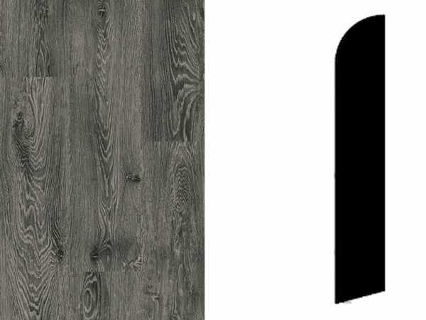 Sockelleiste White Oak Black Dekor