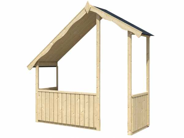 Terrassenerweiterung für Kinderspielhaus Rhodette
