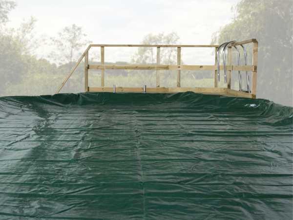Abdeckplane für Pool 593 B Gr. 2