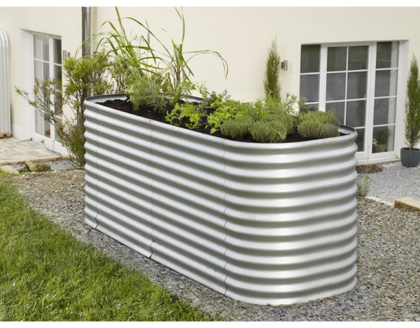 erweiterung f r hochbeet vitavia aluminium blank pe0375. Black Bedroom Furniture Sets. Home Design Ideas