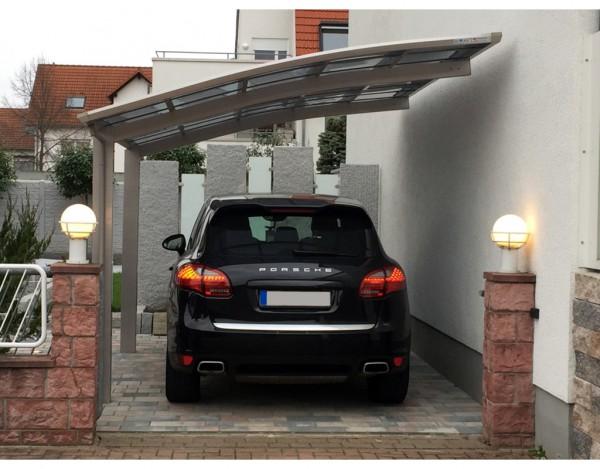 Carport Portoforte Typ 60 Edelstahl-Look