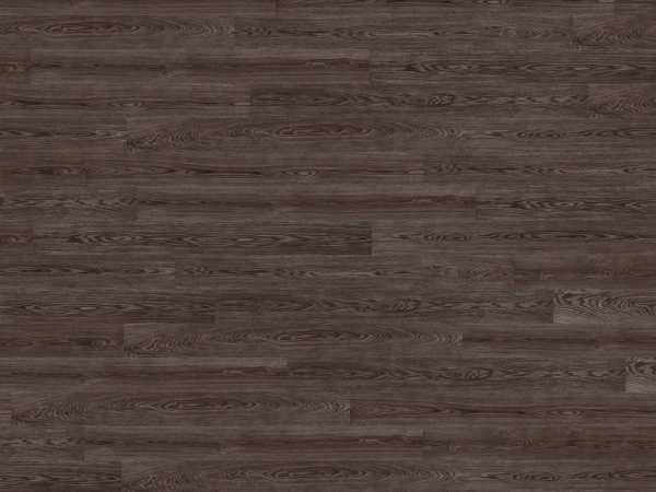 Korkboden wood Essence Coal Oak Holzoptik