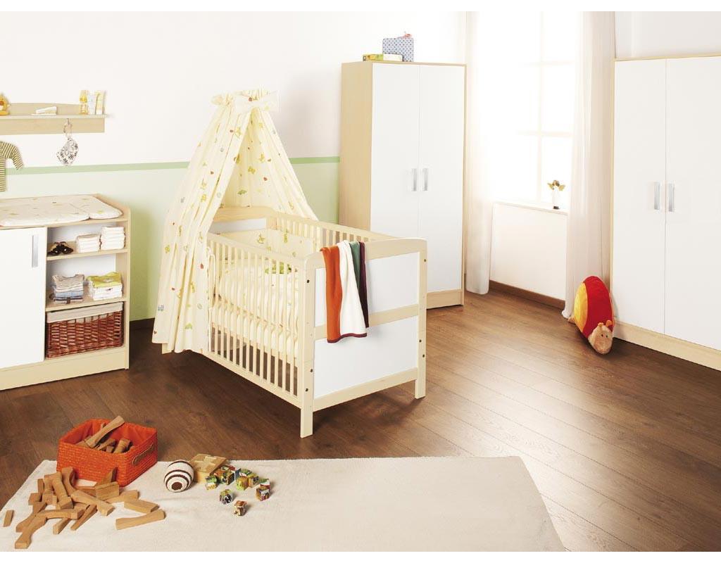 pinolino kinderzimmer 39 florian 39 breit gro 3 tlg bett. Black Bedroom Furniture Sets. Home Design Ideas