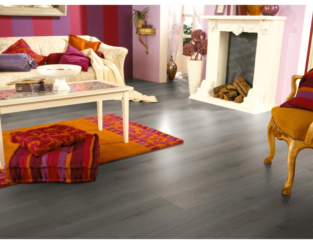 laminat trend eiche dunkelgrau d3127 landhausdiele 452236. Black Bedroom Furniture Sets. Home Design Ideas